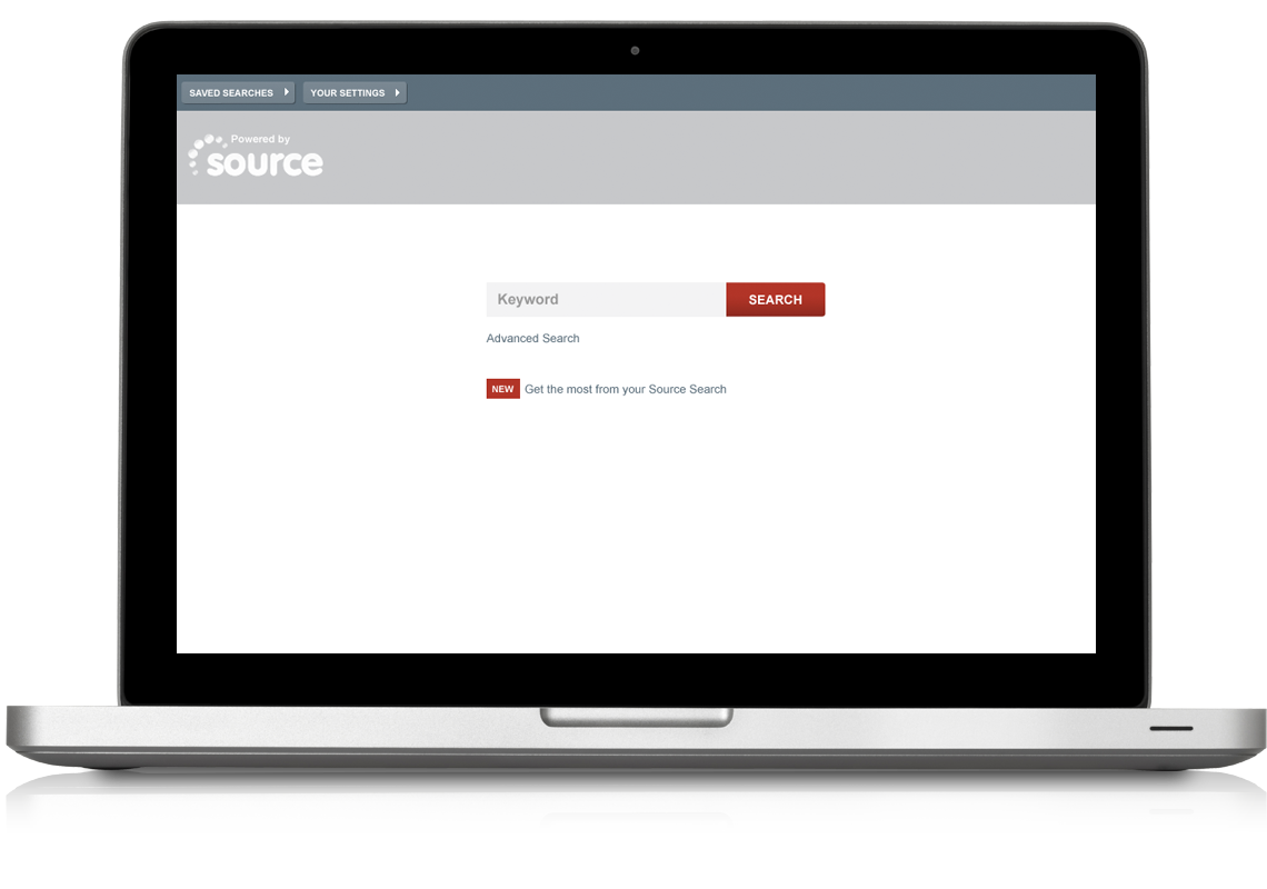 Equion Search Application Search Page