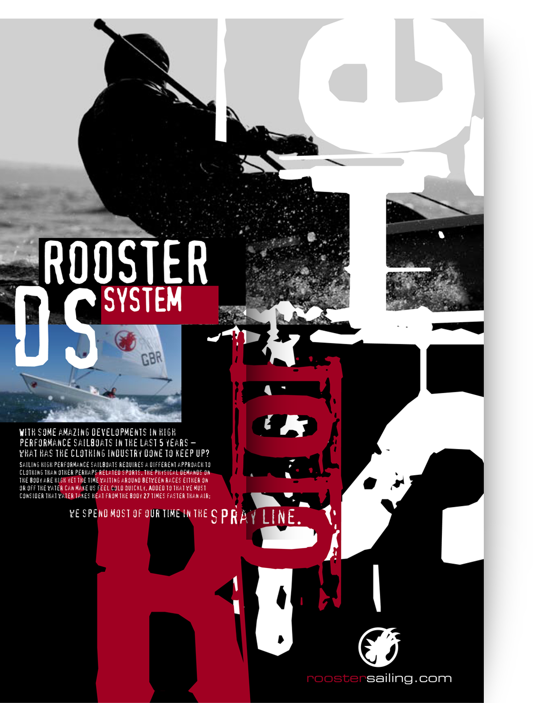 Rooster Sailing Creative Advertising